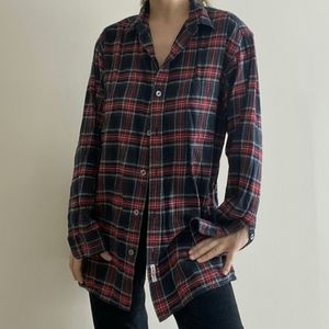 Vintage DKNY Flannel Button Down Top